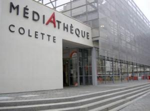 La médiathèque Colette (D.R.)