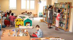 Bibliothèque ou garderie ? (photo Mairie d'Épinay)