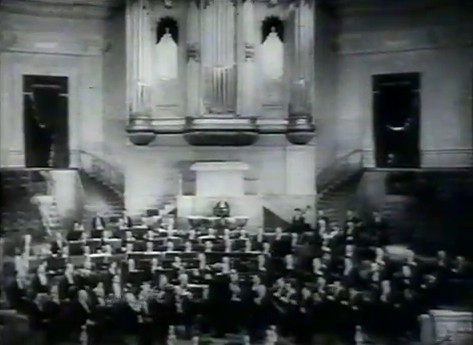L'orchestre du Concertgebouw à Épinay en 1931 (capture d'écran)
